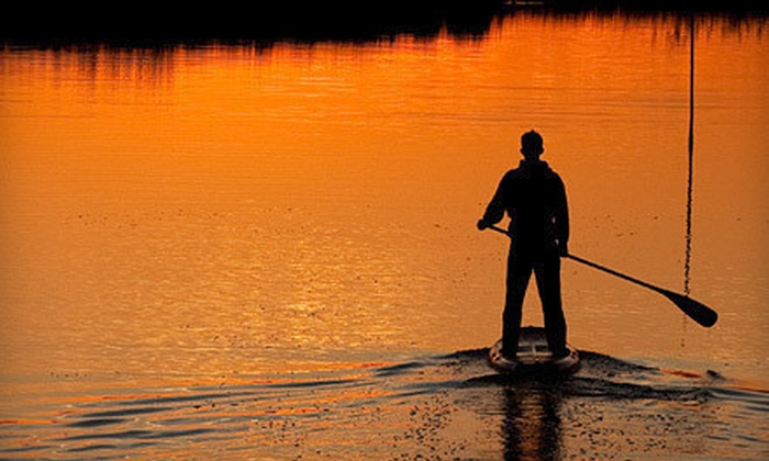 Local Paddler - Multiple Locations: Two-Hour Standup-Paddleboarding Class for an Individual or Evening Class for a Couple from Local Paddler (Up to 57% Off)