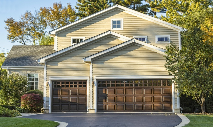 garage of thermacore landing door doors commercial sacramento overhead