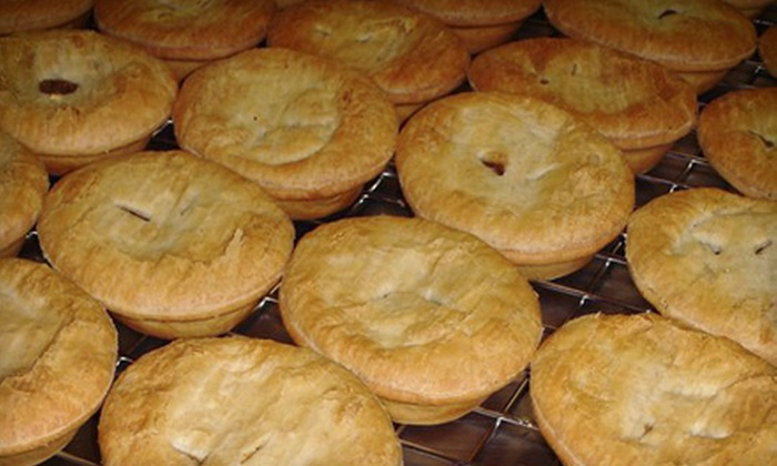 The Australian Pie Company - Burien: $6 for $12 Worth of Aussie Meat Pies at The Australian Pie Company in Burien