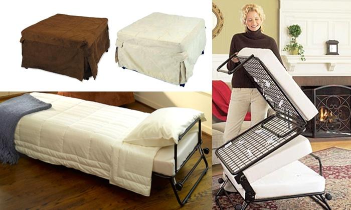 Folding Ottoman Single Sofa Bed Groupon