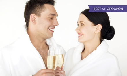 Custom Massage with Wine and Foot Treatment at Santa Barbara Wine Spa (Up to 67% Off). Three Options Available.
