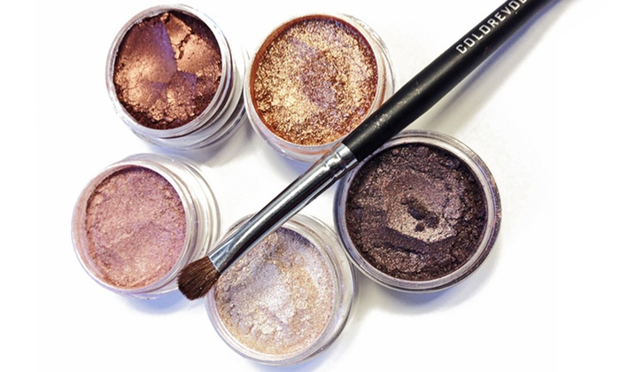 Colorevolution Warm and Shimmery Mineral Eyeshadow Collection: Colorevolution Warm and Shimmery Mineral Eyeshadow Collection