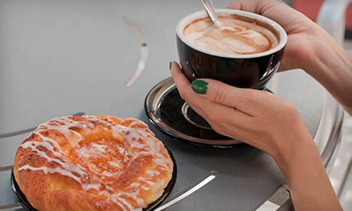 CupSide Down Cafe - Orangeburg: $7.50 for Punch Card for Five Breakfast Combos with Coffee at CupSide Down Cafe ($17.50 Total Value)