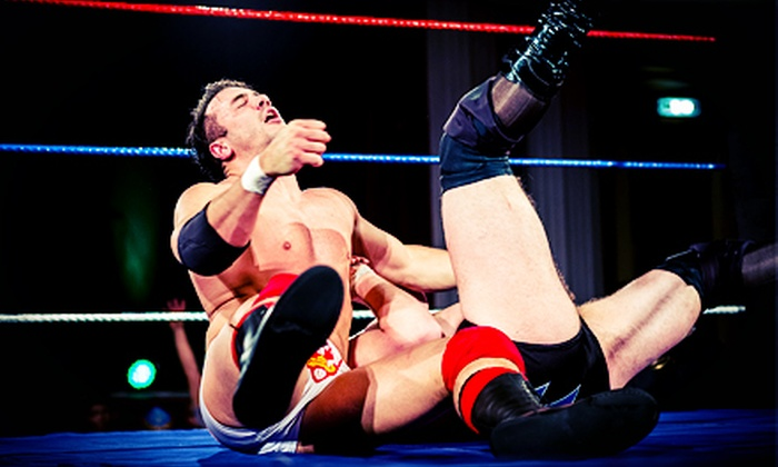 Alaska Pro Wrestling - Northeast Anchorage: Alaska Pro Wrestling Event for Two or Four at Muldoon Recreation Center (Up to 55% Off). Two Seating Options Available.