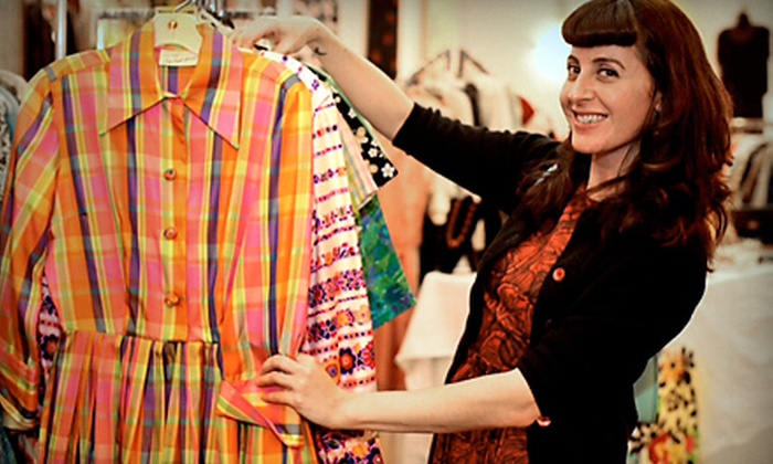 Alameda Point Vintage Fashion Faire - Alameda: $13 for Two-Day Admission and Shopping Bags for Two at Alameda Point Vintage Fashion Faire on October 18–19 ($26 Value)