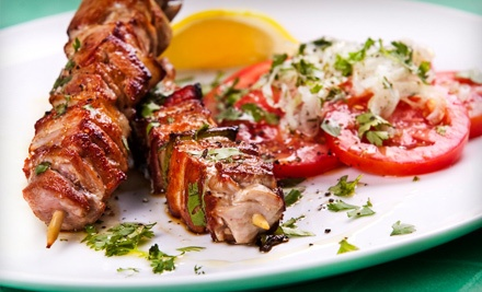 Lunch or Dinner for Two (up to a $93.85 total value) - Aegean Turkish Restaurant in New York
