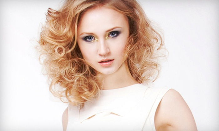 Salon 4316 - Richardson: Haircut Package with Option for Single-Process Color, Partial Highlights, or Scalp Massage at Salon 4316 (Up to 68% Off)