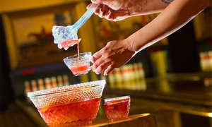 Punch Bowl Social: Food and Bowling at Punch Bowl Social (Up to 61% Off). Three Options Available.