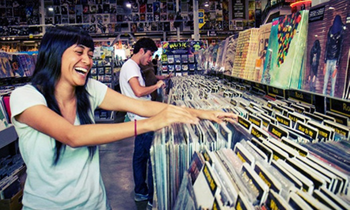 Amoeba Music Hollywood - Los Angeles: $19 for $30 Worth of New and Used CDs, DVDs, Vinyl, Posters, Memorabilia, and More at Amoeba Music