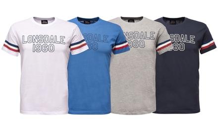 2 Tshirt da uomo Loupe Lonsdale disponibili in vari colori e