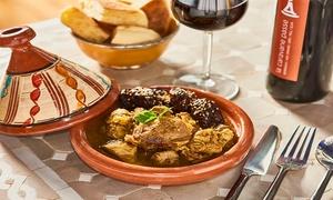 La Caravane Passe: Délicieux menu marocain en 3 services à 34,99€ au restaurant la Caravane Passe