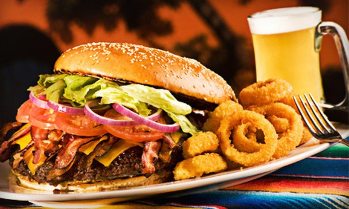 Richie B's Diamond Club - Lake Ronkonkoma: Burgers, Wraps, and Beers for Two or Four at Richie B's Diamond Club (Up to 57% Off)