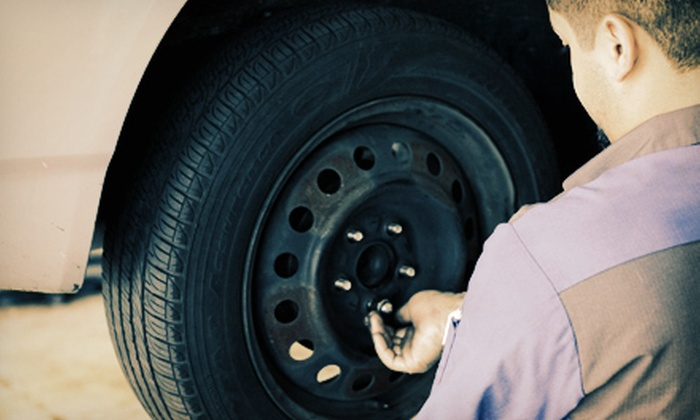 McGee Auto Service & Tires - Tallahassee: Oil Changes and Four-Wheel Alignment at McGee Auto Service & Tires (Up to 58% Off). Five Options Available.