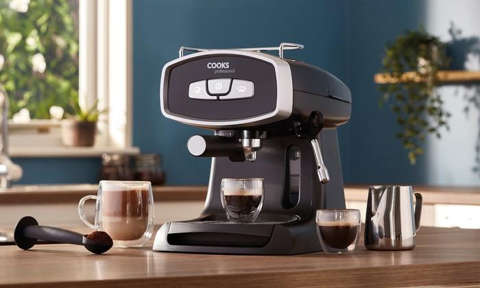 Cooks Professional 19-Bar Espresso Machine
