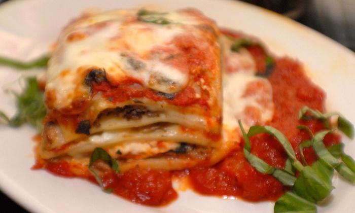 Papa Vito's Italian Restaurant - Cocoa Beach-Cape Canaveral: Italian Food at Papa Vito's Italian Restaurant (Up to 52% Off). Three Options Available.