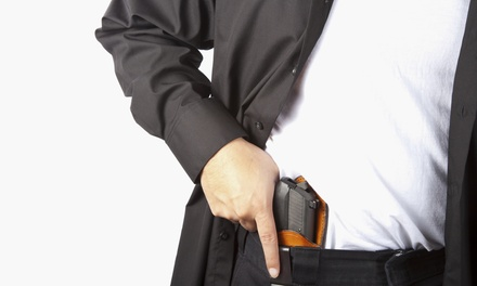 $39.99 for a Basic Pistol Safety and Concealed-Carry Class at Arms To Bear ($85 Value)