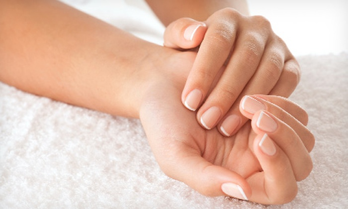 Nails and More Spa - Solon: One or Two Gel Manicures with Soak-Off at Nails and More Spa (Up to 54% Off)