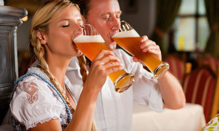 Wineries & Grille - Saint Croix Falls: $22 for an Oktoberfest Beer and Wine Tasting for Two at Wineries & Grille ($46 Value)