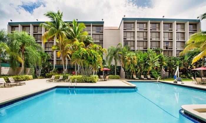 Ramada West Palm Beach Airport Hotel - West Palm Beach, FL: Stay at Ramada West Palm Beach Airport Hotel in West Palm Beach, FL; Dates into September