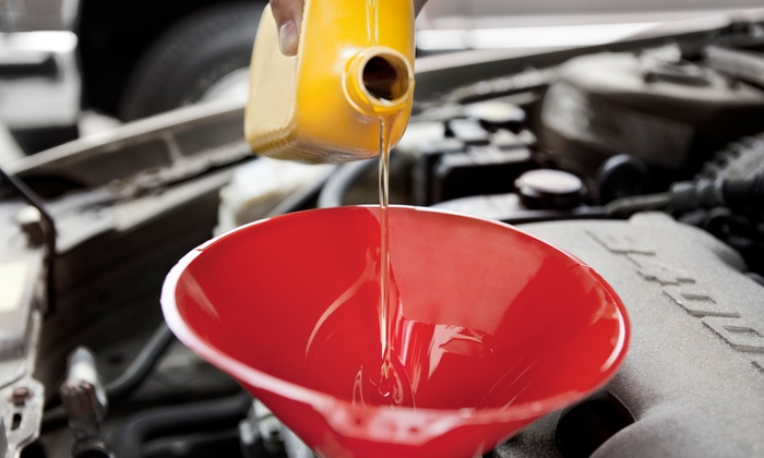 House of Mufflers and Brakes - Multiple Locations: $18 for an Oil Change, Tire Rotation, and Inspection at House of Mufflers and Brakes ($45 Value)