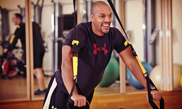 Mount Auburn Club - East Watertown: $199 for a Fitness Package with Personal Training, Gym Membership, and Analysis at Mount Auburn Club ($718 Value)