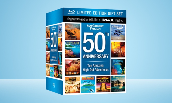 IMAX: 50th Anniversary 10-Disc Collection on Blu-ray: IMAX: 50th Anniversary 10-Disc Collection on Blu-ray. Free Returns.