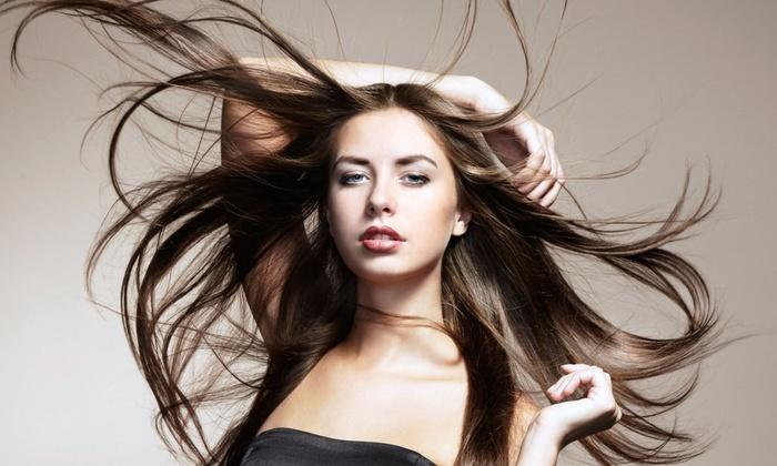Hollywood's Way Salon-Divine Hair by Kim C. S. - Southchase: Salon Packages at Hollywood's Way Salon-Divine Hair by Kim C. S. (Up to 56% Off). Three Options Available.
