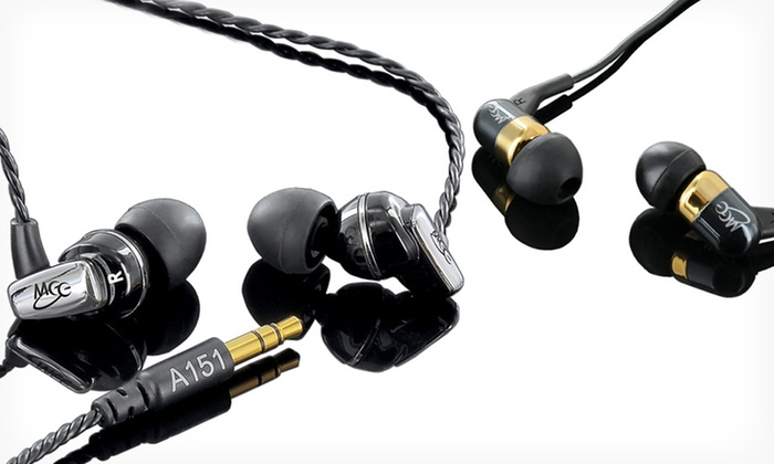 MEElectronics Balanced Armature In-Ear Headphones: MEElectronics Balanced Armature In-Ear Headphones with Optional Mic (Up to Half Off). Free Shipping and Free Returns.