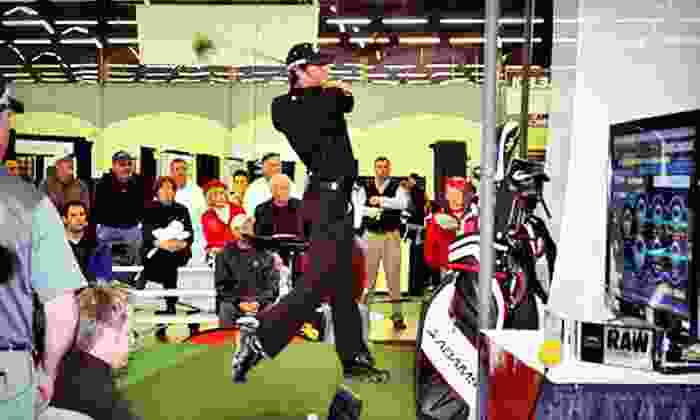 Supreme Golf & Leisure Show - Grapevine: One-Day Visit for One, Two, or Four to the Supreme Golf & Leisure Show at the Gaylord Texan Hotel on November 9–11