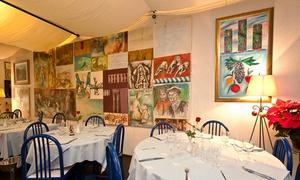 Amici Miei: Plat et dessert au choix à la carte avec entrée en option pour 2 personnes dès 29,99 € au restaurant Amici Miei
