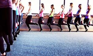 Pure Barre Edina: 8 or 16 Barre Classes at Pure Barre Edina (Up to 63%Off)