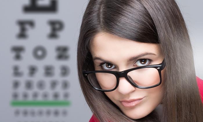 Eyes On Flatbush - Flatbush - Ditmas Park: Eye Exam and Retail Credit Toward Glasses with Optional Contact-Lens Exam at Eyes On Flatbush (Up to 92% Off)