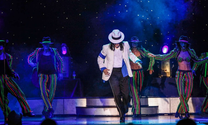 MJ Live: A Michael Jackson Tribute Concert - Paradise: MJ Live: A Michael Jackson Tribute for One or Two at Crown Theater at Rio Las Vegas Through February 28 (Up to 58% Off)
