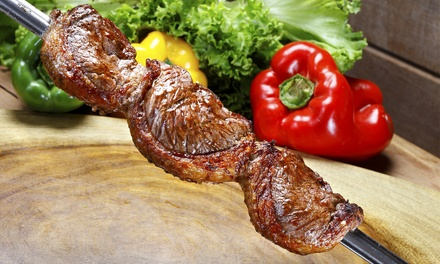Unlimited Meat-and-Salad Buffet Dinner for Two or Four at Brazil Grill Churrascaria (Up to 49% Off)