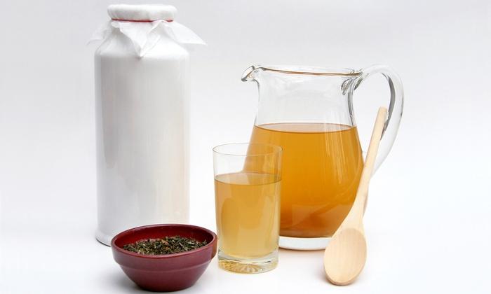 The Cheesemaker - Riverside Park: $69 for Kombucha-Tea-Making Workshop with Take-Home Kit ($166 Value)