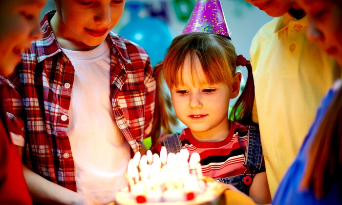 Kent Valley Ice Centre - Kent: $80 for a Birthday Party Package for Up to 10 Guests at Kent Valley Ice Centre ($147.99 Value)