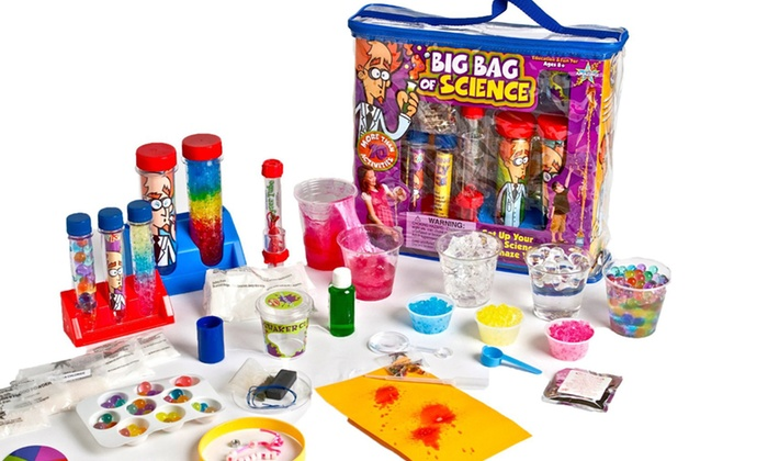 Be Amazing Big Bag of Science Activity Set: Be Amazing Big Bag of Science Activity Set. Free Shipping and Returns.