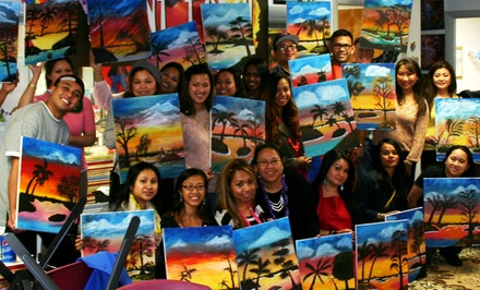 Social Painting Class for One or Two at I Paint Today (Up to 59% Off)