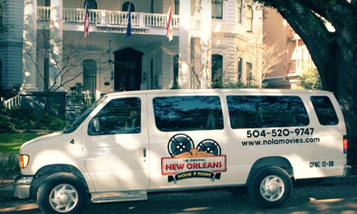 New Orleans Movie Tours - French Quarter: Two-Hour New Orleans Movie Tour for One or Two from New Orleans Movie Tours (Up to 55% Off)