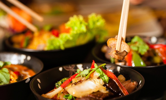 Asian fusion cuisine asian fusion groupon for Asian fusion cuisine