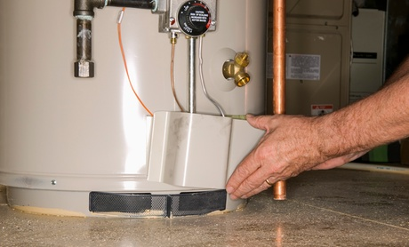 HVAC Maintenance or Water-Heater Safety Check from Aavco Plumbing-Heating-Air Conditioning (Up to 78% Off)