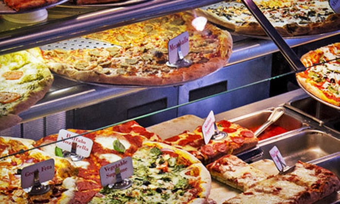 Washington Deli - Dupont Circle: $10 for Two Pizza Meals with Sodas and Treats at Washington Deli ($23 Value)