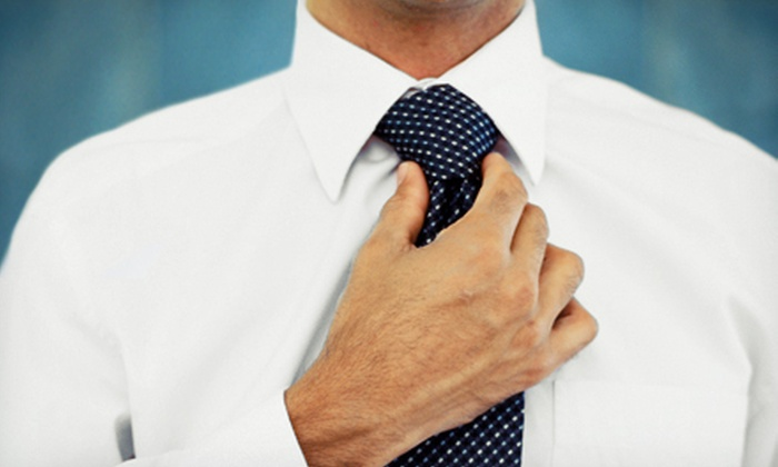 Enzo Custom Clothiers - Center City West: One Custom Shirt with Optional Tie or Two Custom Shirts with Tie at Enzo Custom Clothiers (Up to 60% Off)