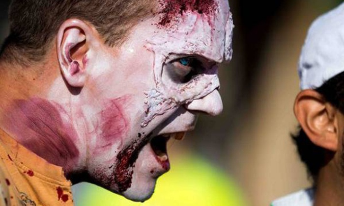 Zombie Survivor - Calgary: Zombie Registration for One or Two at the Zombie Survivor 5K (Up to 64% Off)