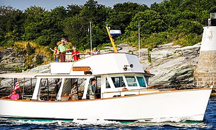 Gansett Cruises - Newport: 90-Minute Newport Harbor Boat Cruise for Two from Gansett Cruises (Up to 60% Off). Two Options Available.
