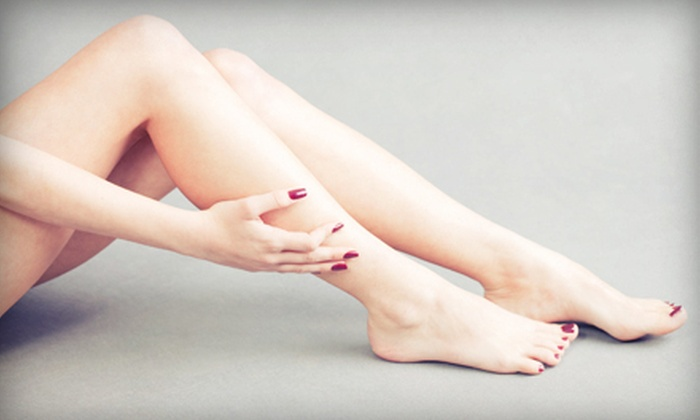 Salon Hermitage - Pittsford: $40 for Shellac Manicure and Deluxe Pedicure at Salon Hermitage ($80 Value)