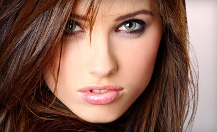 Blowouts, or Haircuts with Option for Partial Highlights at Toni&Guy Hairdressing Academy (Up to 53% Off)