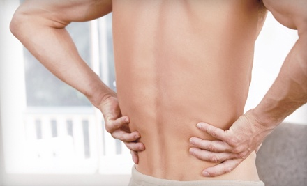 Massage with One or Two Optional Spinal-Decompression Treatments and a Pain Evaluation at HealthSource (Up to 93% Off)
