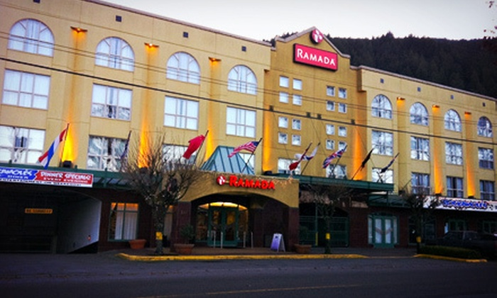 Ramada Harrison Hot Springs - Harrison Hot Springs: Two-Night Stay for Two Sunday–Thursday or Friday–Sunday at Ramada Harrison Hot Springs (Up to 46% Off)
