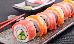 Sushi House of Hoboken: Japanese Food for Two at Sushi House of Hoboken (Up to 52% Off)